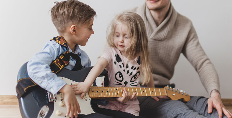 Guitar Lessons for Kids Boost Their Confidence